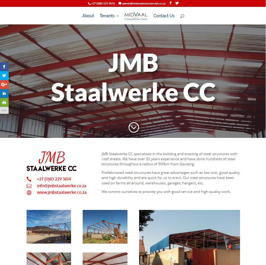 JMB Staalwerke Tenant Page