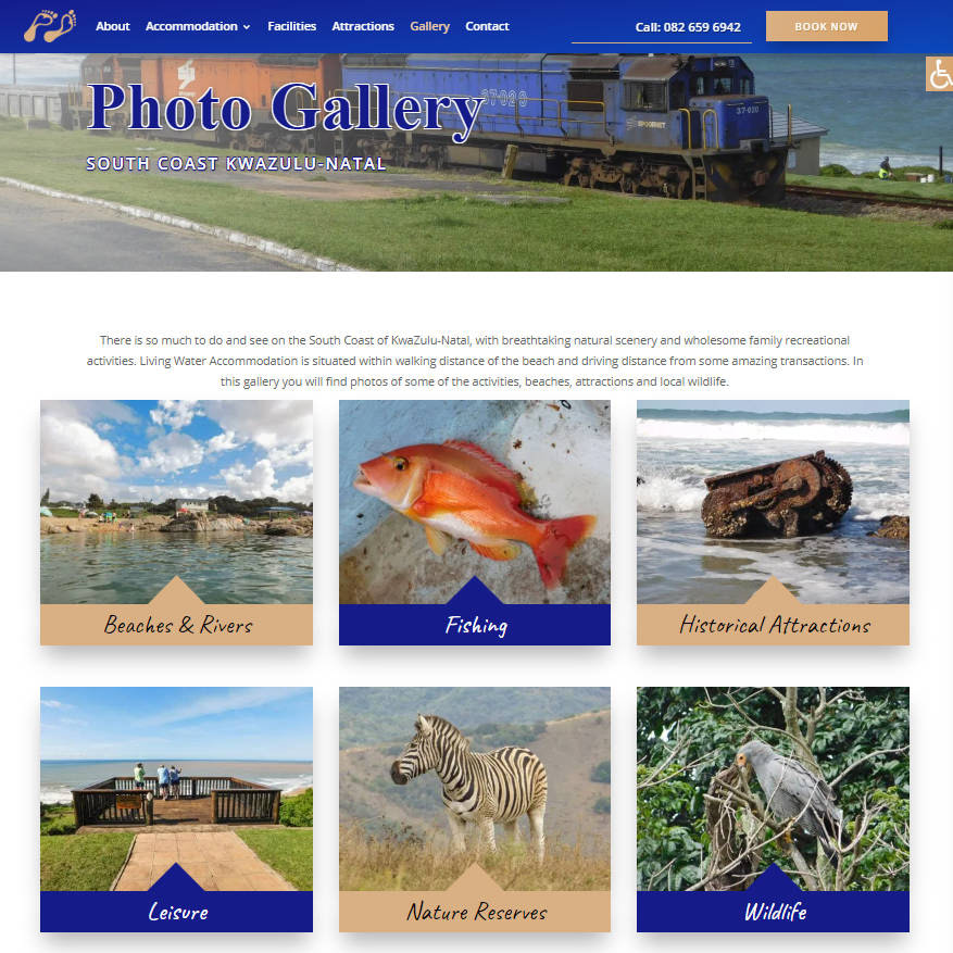 Living Water Accommodation Gallery Page